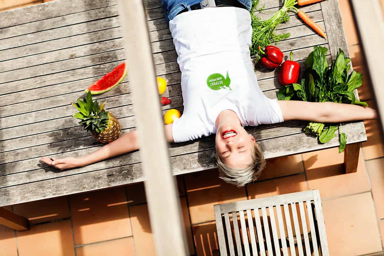 """Bettina Sturm vom FoodPreneur-Blog """"Respekt Herr Specht"""" mag Selbstmarketing. Das neue Logo vom #Specht ist ein Schritt auf dem Weg zur Marke.Das tolle Photo ist von Dorothee Elfring."""