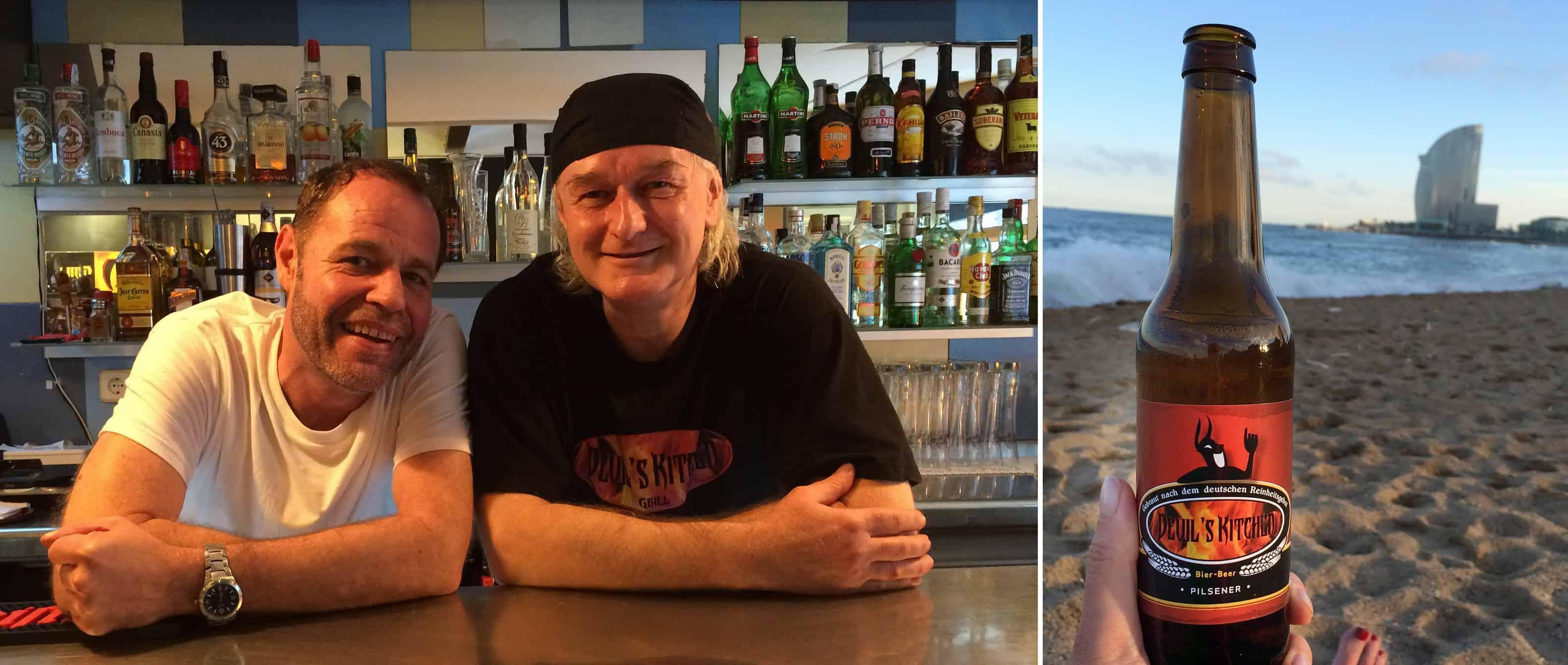 """Restaurant eröffnen in Barcelona: Bettina Sturm von """"Respekt Herr Specht"""" hat heute im Gründerinterview Christian Plettau und Erik Stephens von """"Devil's Kitchen"""""""