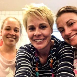 Bettina Sturm von RespektHerrSpecht interviewt Katharina Mayer und Katrin Blaschke vom #SocialStartup kuchentratsch
