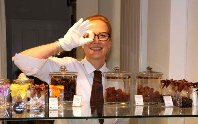 """Bettina Sturm interviewt Inhaberin Kerstin Weise von """"chokoin - die Schokoladengalerie zu Ihrer Erfolgsgeschichte"""