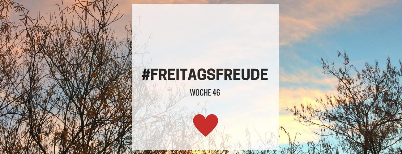 Freitagsfreude – Woche 46 in 2016