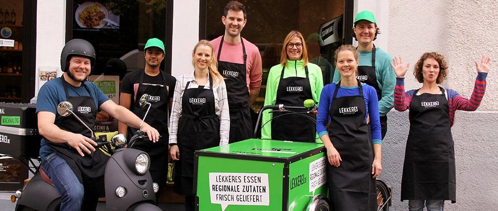 """Bettina Sturm vom FoodPreneur-Blog """"Respekt Herr Specht!"""" interviewt Andro Maus vom Lieferservice und Online-Restaurant LEKKEREI"""