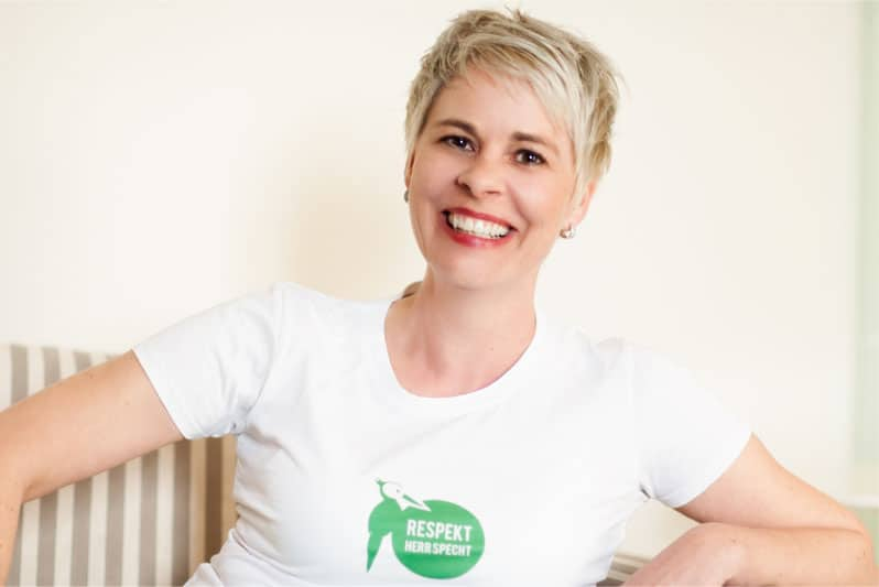 """Bettina Sturm von """"Respekt Herr Specht"""" zeigt Quereinsteigern ohne Gastro-Ausbildung, wie sie sich ihren Lebenstraum Café eröffnen verwirklichen können"""