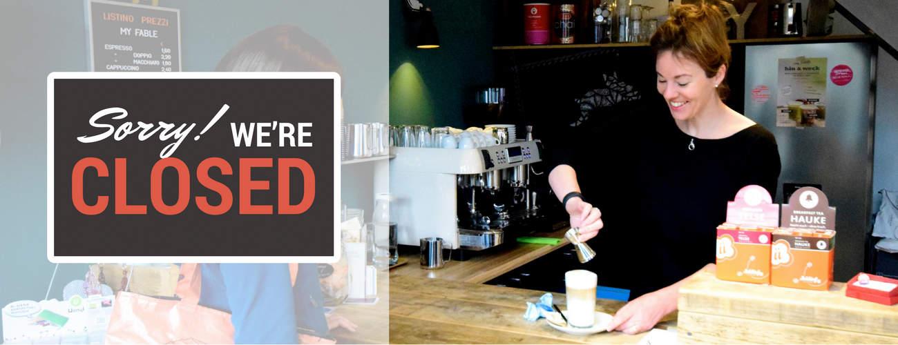 Café geschlossen: Bettina Sturm interviewt die Ex-Geschäftsführerin Petra Dahm von my Fable über Gründe, Stolpersteine, Learnings und Tipps für andere Gründer