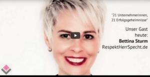 """Was ist mein Erfolgsgeheimnis als Unternehmerin? - Diese und weitere Fragen stellte mir Monika Thoma i.R. ihrer Videoserie """"21 Unternehmerinnen - 21 Erfolgserlebnisse"""""""