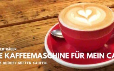 Kaffeemaschine und Café: Welche nehme ich? - 4 Fragen helfen bei der Entscheidung