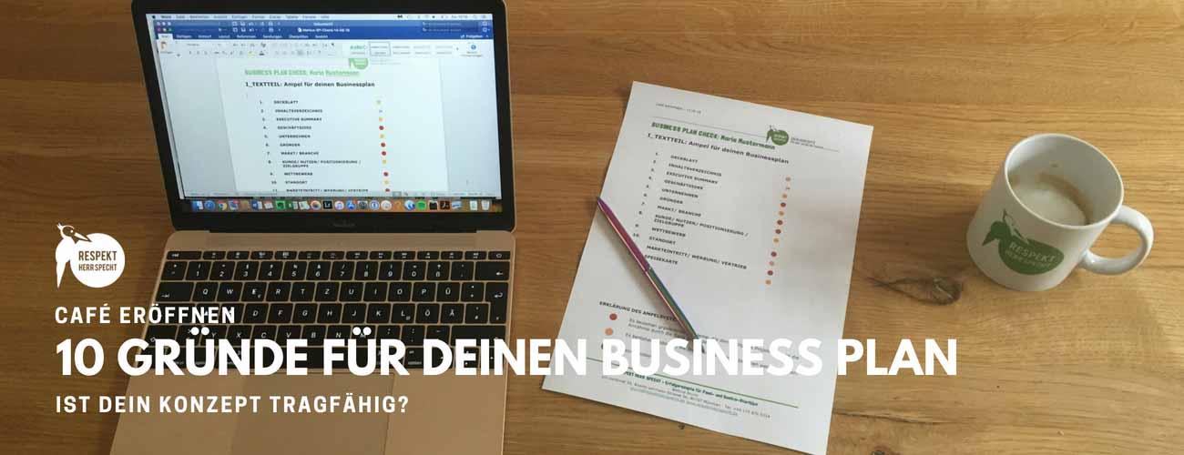 Der Businessplan für dein Café: 10 Gründe, warum du unbedingt einen brauchst