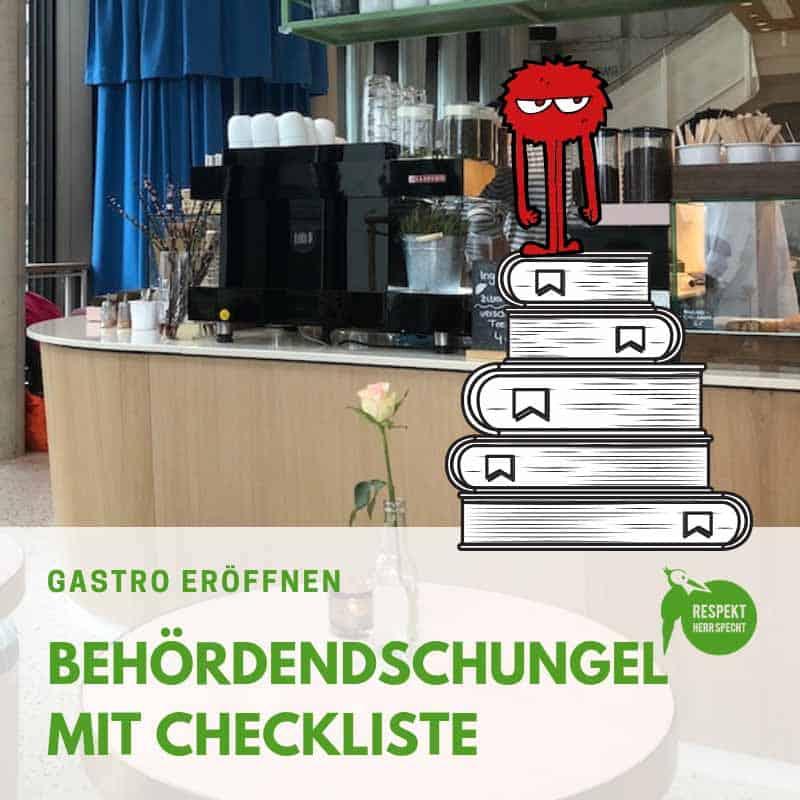 Gastro eröffnen: Fetter Behördendschungel. Hier gibt es die Checkliste