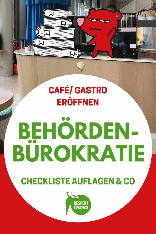 Auflagen & Genehmigungen: Was muss ich beachten, wenn ich ein Café