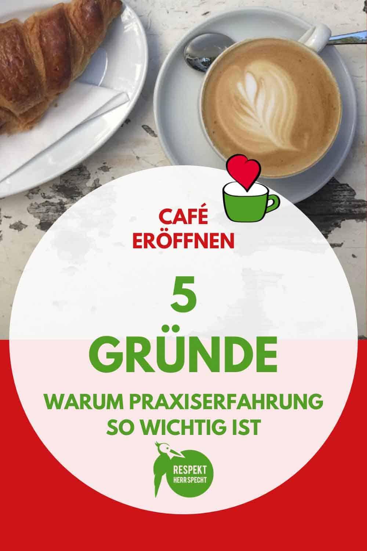 Café eröffnen ohne Erfahrung und Ausbildung