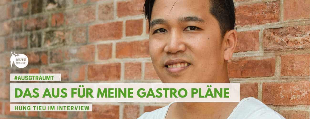 Ich bin raus: Das Aus für meinen Gastronomie Plan