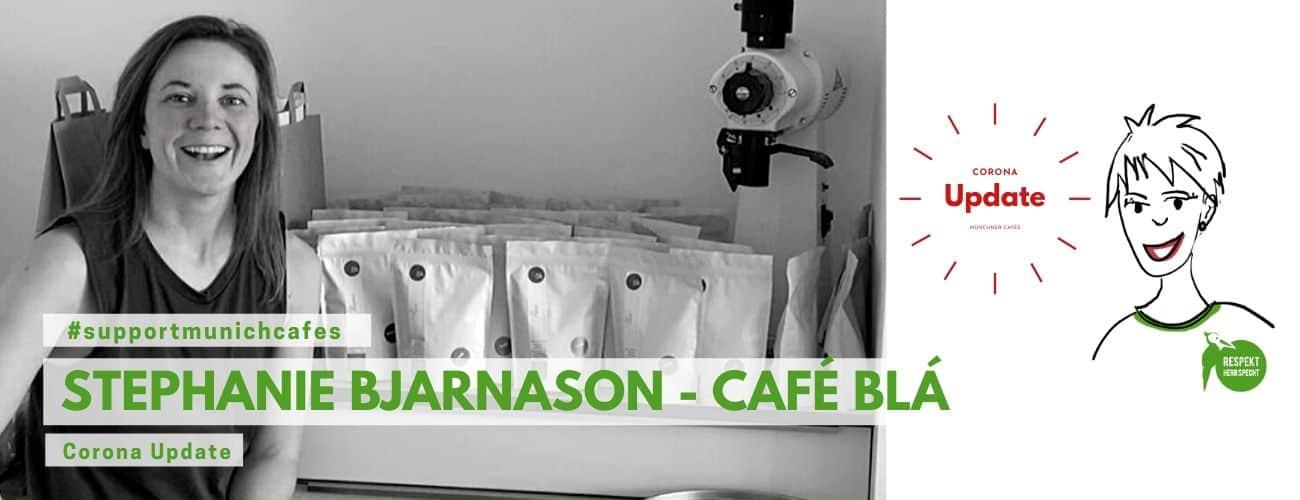 #supportmunichcafes – Stephanie Bjarnason, Café Blá