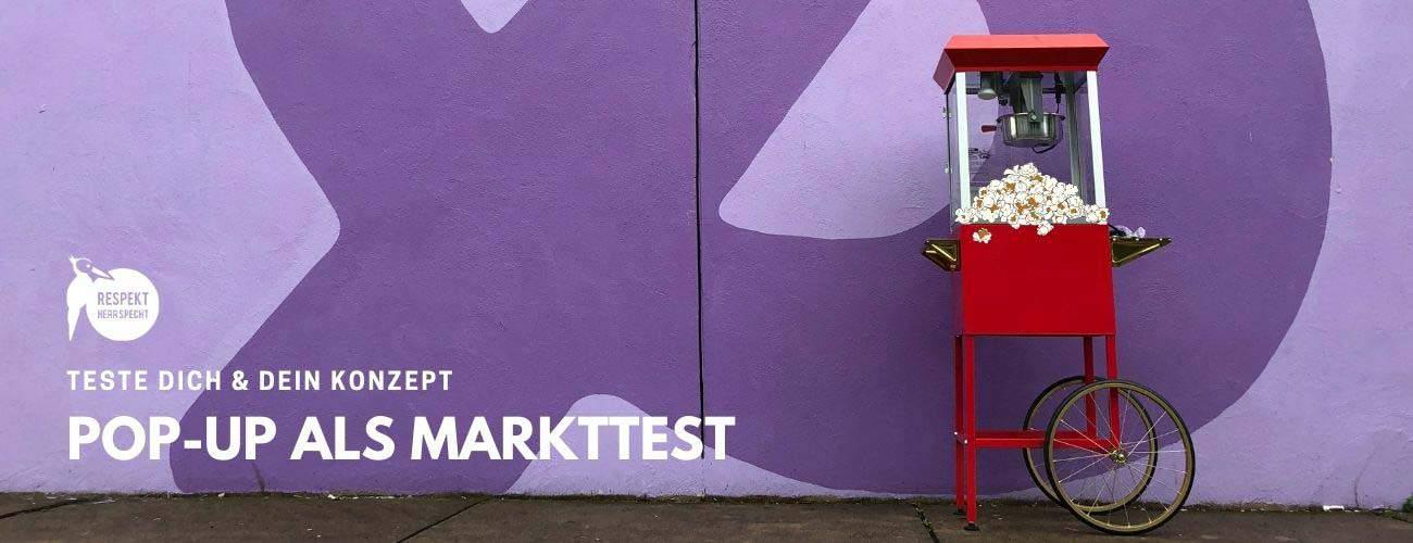 Pop-Up in der Gastronomie eröffnen: Ein Markttest